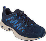 Ryka Suede Bungee Hiking Sneakers - Catalyst Trail - A295150