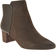 Rockport Total Motion Leather and Suede Ankle Boots - A296650