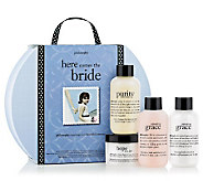 philosophy here comes the bride gift set - A316350