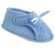 MUK LUKS Womens Microchenille Front Flap Slipper Boot - A327850