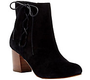 Sole Society Leather Lace-up Ankle Boots - Renzo - A355450