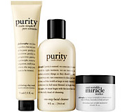 philosophy clean & moisturize trio - miracle - A359450