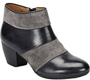 Comfortiva Leather Ankle Boots - Amesbury - A359850