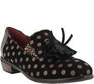 L`Artiste by Spring Step Leather Slip Ons - Klasik - A360150