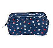 LeSportsac Printed Nylon Kevyn Double Compartment Cosmetic Case - A233251