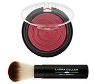 Laura Geller Baked Gelato Vivid Swirl Blush with Brush - A240551