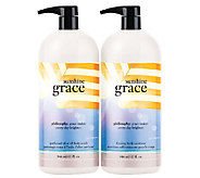 philosophy super size sunshine grace 32 oz. duo - A255451