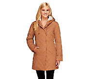 Dennis Basso Reversible Quilted Jacket with Hood - A258451