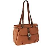 As Is Dooney & Bourke Samba Leather Shopper - A262951
