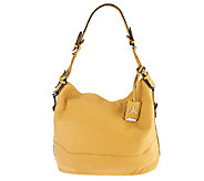 As Is Aimee Kestenberg Leather Lauren Hobo with Woven Handles - A267351