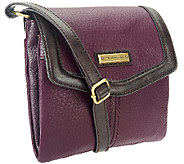 Tignanello Pebble Leather Flap Organizer RFID Crossbody Bag - A269251