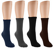 CASA 4 Pairs Thermal Looping Comfort Socks - A269951