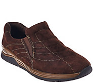 Earth Suede Water Resistant Slip-on Shoes - Journey - A270451
