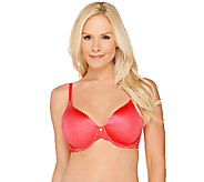 As Is Breezies Modesty Lined Full Coverage T-Shirt Bra - A270751