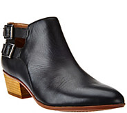 Clarks Artisan Leather or Suede Buckle Booties - Spye Astro - A271851