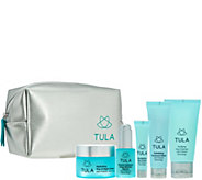 TULA Probiotic Skincare 5-Piece Starter Kit with Travel Bag - A279851