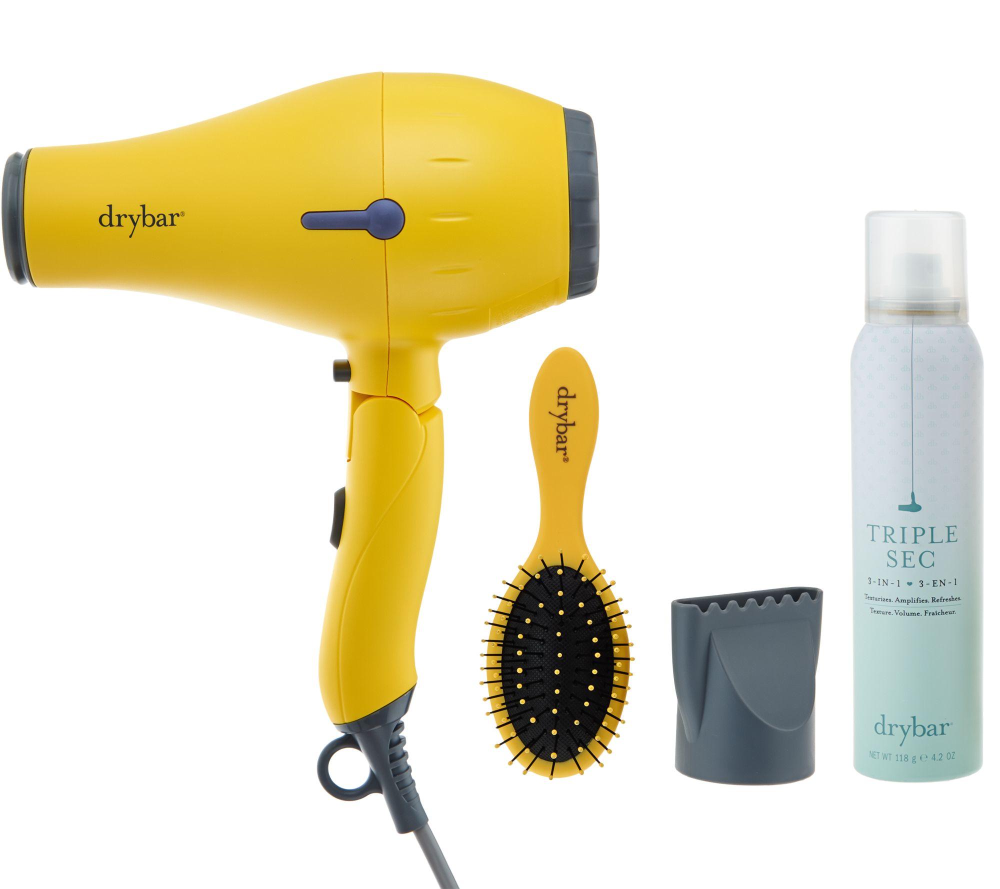 Drybar Baby Buttercup Travel Hair Dryer w Brush Triple Sec Page