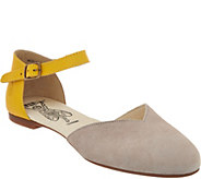 FLY London Leather Two-Piece Flats - Mion - A290151