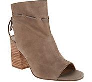 Franco Sarto Suede Tie-Back Ankle Boots - Fenwick - A294651
