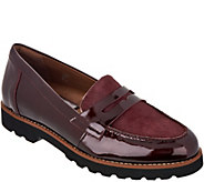 Earthies Leather and Haircalf Loafers - Braga - A296751