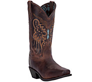 Laredo Leather Cowboy Boots - Cora - A335451