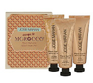 Josie Maran Set of 3 Argan Oil Hand Creams - A336351