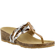 Tuscany by Easy Street Cork Wedge Sandals - Bene - A339051