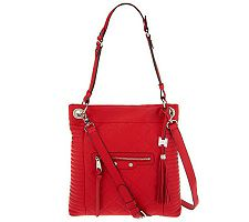 Aimee Kestenberg Leather Quilted Serena Crossbod...