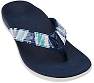 Vionic Orthotic Thong Sandals - Tide Sequins - A239852