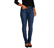 SkinnyJeans 2 Petite Slim Boot Cut Jeans - A258652