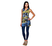 As Is Women with Control Sleeveless V-Neck Tunic & Leggings Set - A259752