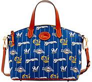Dooney & Bourke MLB Nylon Brewers Small Satchel - A281752