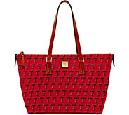 Dooney & Bourke NCAA Texas Tech University Zip Top Shopper - A283252