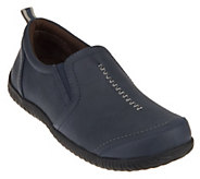 As Is Vionic Orthotic Double Gore Slip-on Shoes - Zoe - A284052
