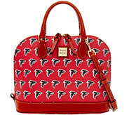 Dooney & Bourke NFL Falcons Zip Zip Satchel - A285752