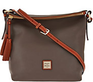 As Is Dooney & Bourke Pebble Leather Small Dixon Crossbody Bag - A290652