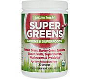 Garden Fresh Powdered Super Greens 30-day Supply - A292952