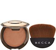BECCA Sunlit Bronzer & Halfmoon Brush - A297552