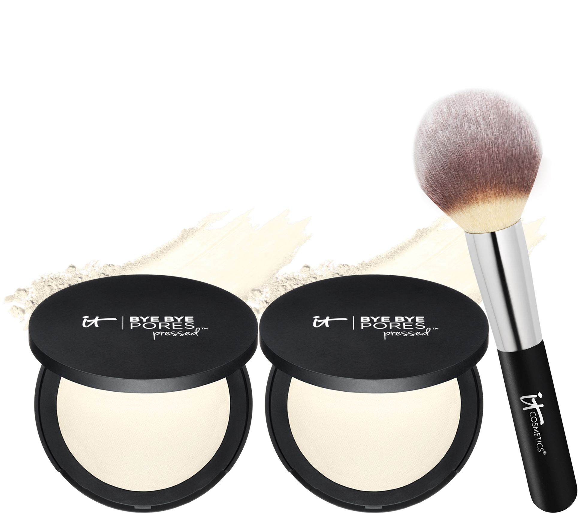 It Cosmetics Super Size Bye Bye Pores Pressed With Brush by The Brand