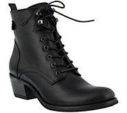 Spring Step Leather Bootie - Nario - A355752