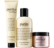 philosophy clean & moisturize trio - ultimate - A359452