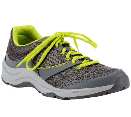 Vionic w/ Orthotic Mesh Lace-up Sneakers - Kona