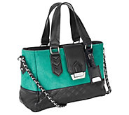As Is Aimee Kestenberg Soft Haircalf Leather E/W Shopper - A267353