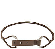 H by Halston Stretch Cord Belt with Pull Back Closure - A277353