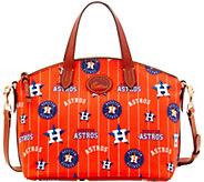 Dooney & Bourke MLB Nylon Astros Small Satchel - A281753