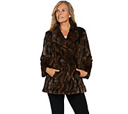 Dennis Basso Sterling Collection Faux Fur Coat - A284853