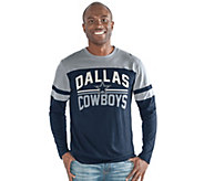 NFL Dallas Mens Slub Long Sleeve Top - A296453
