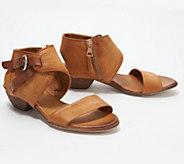 Miz Mooz Leather Buckle Sandals - Cheerful - A305153