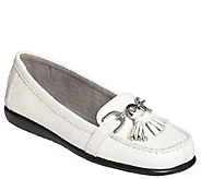 Aerosoles Stitch N Turn Leather Loafers - Super Soft - A334153