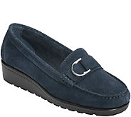 Aerosoles Stitch N Turn Leather Loafers - Parisian - A336453
